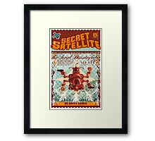 The Secret Satellite Mail Order Flyer #6 Framed Print