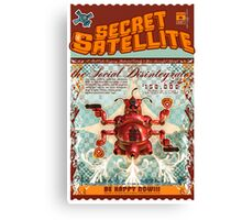 The Secret Satellite Mail Order Flyer #6 Canvas Print