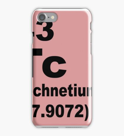 Technetium Periodic Table of Elements iPhone Case/Skin