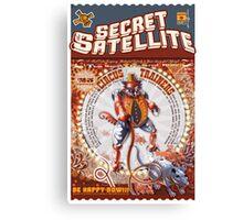 The Secret Satellite Mail Order Flyer #5 Canvas Print