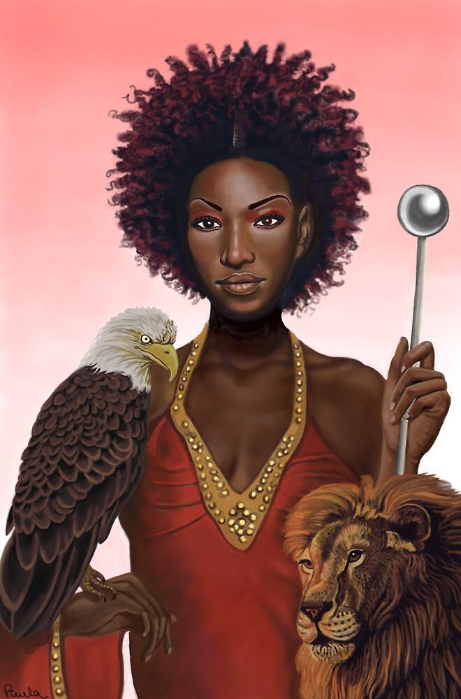 Emperor Goddess by Pamela  Wells
