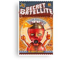 The Secret Satellite Mail Order Flyer #3 Canvas Print
