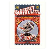 The Secret Satellite Mail Order Flyer #2 Art Print