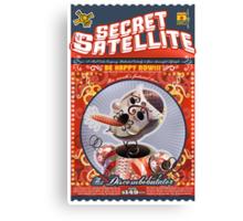 The Secret Satellite Mail Order Flyer #2 Canvas Print