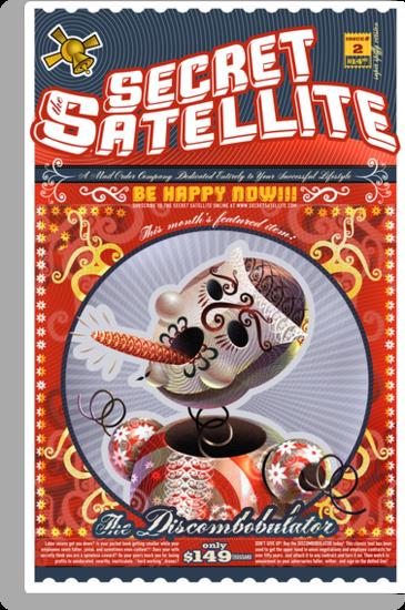 The Secret Satellite Mail Order Flyer #2 by Kristian Olson