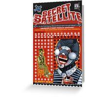 The Secret Satellite Mail Order Flyer #1 Greeting Card