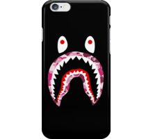 BAPE PINK CAMO SHARK iPhone Case/Skin
