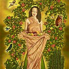 Empress Goddess by Pamela  Wells