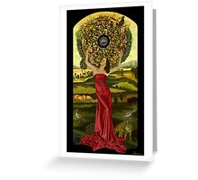 Fortune Empress Greeting Card