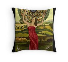 Fortune Empress Throw Pillow