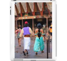 Aladdin and Jasmine iPad Case/Skin