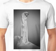 Statue in the mist Unisex T-Shirt