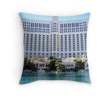Bellagio ---Las Vegas Throw Pillow