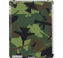 Military Camouflage Pattern Print iPad Case/Skin