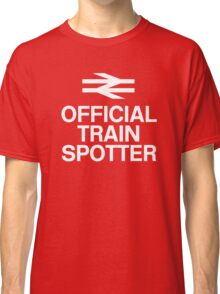Official Trainspotter Classic T-Shirt
