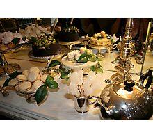 Afternoon tea Italian Style Photographic Print