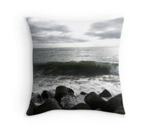 Harbor Wave Throw Pillow