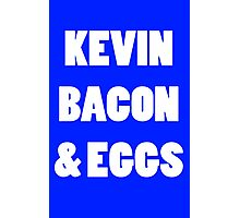 80s kevin bacon and eggs geek funny nerd Photographic Print
