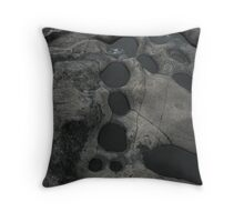 Lake Superior carving - mother nature style Throw Pillow