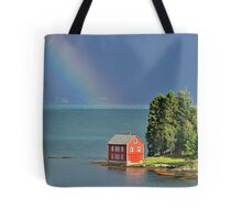 House by the Fjord Tote Bag