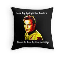No Room For Bigotry on the Bridge Throw Pillow