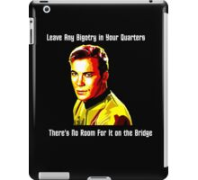 No Room For Bigotry on the Bridge iPad Case/Skin