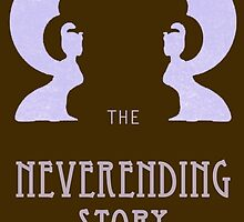 The Neverending Story - Movie and Book Cover  by manupremoli