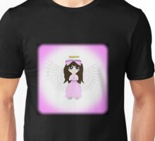 Angel in Pink Anime Unisex T-Shirt