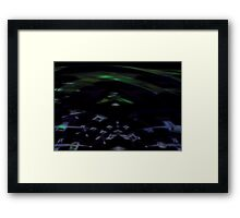 Night's Daughter-A ~Abstract~ Framed Print