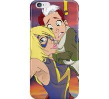 Rogue & Ms. Marvel Selfie iPhone Case/Skin