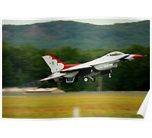 Thunderbird F-16 Poster