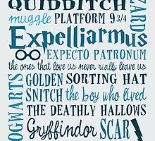 Harry Potter - All Books and Movies Quotes  by manupremoli