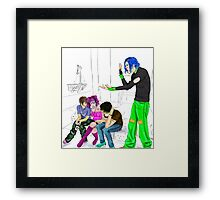 Tyburn Tree: Usual Style Framed Print