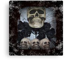 The Skulls Canvas Print