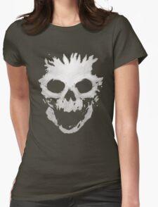 Skull Helmet Womens Fitted T-Shirt