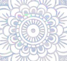 Flower Holograph Sticker
