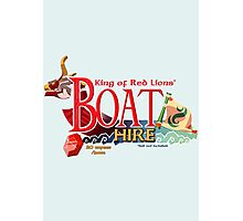 Red Lion's Boat Hire - Zelda Photographic Print