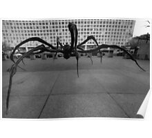 LOUISE BOURGEOIS - CROUCHING SPIDER  Poster