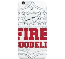 Fire Goodell iPhone Case/Skin