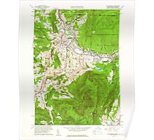 Massachusetts  USGS Historical Topo Map MA Williamstown 350750 1960 24000 Poster