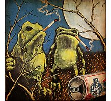 Bad Frogs Photographic Print