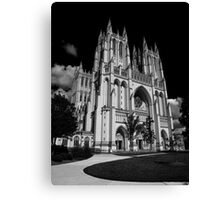 Washington National Cathedral Canvas Print