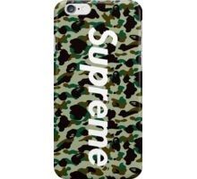 SUPREME & BAPE iPhone Case/Skin
