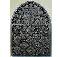 14th Century wood panel Photographic Print