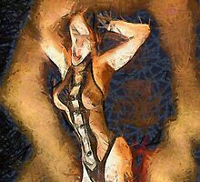 Temptress by Mary Bassett by esotericaart