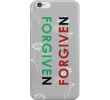 Forgiven #2 iPhone Case/Skin