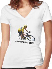 Winner 2015 Women's Fitted V-Neck T-Shirt