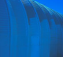 Linear Funtions  - Metal Building in Blue Version by Buckwhite