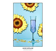 Cocktails with Van Gogh - Titled print Photographic Print