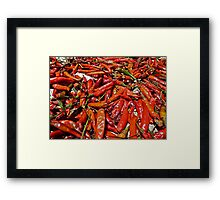 Spicy !!! Framed Print